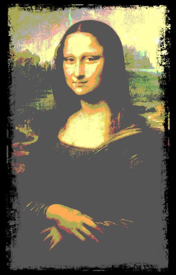 """ JE SUIS "".......Mona Lisa."