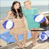 *17 juillet 2010, Hay' et Vanessa, à l'évènement « Neutrogena's Wave for Change » à Malibu.  *