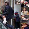 La famille Jolie-Pitt à Paris