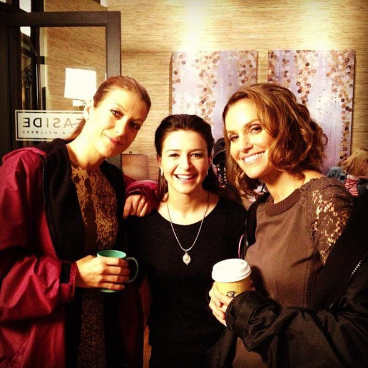 On the set - Photo instagram de Kadee