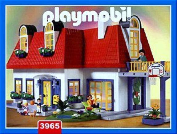 Maison Playmobil 3965 Extension