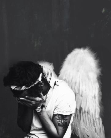 III ~ Je serais toujours ton ange...  C'est promis ღ
