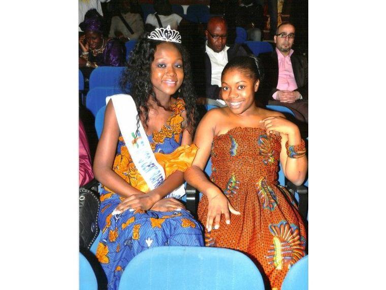 Miss Centrafrique France et la Présidente du comité