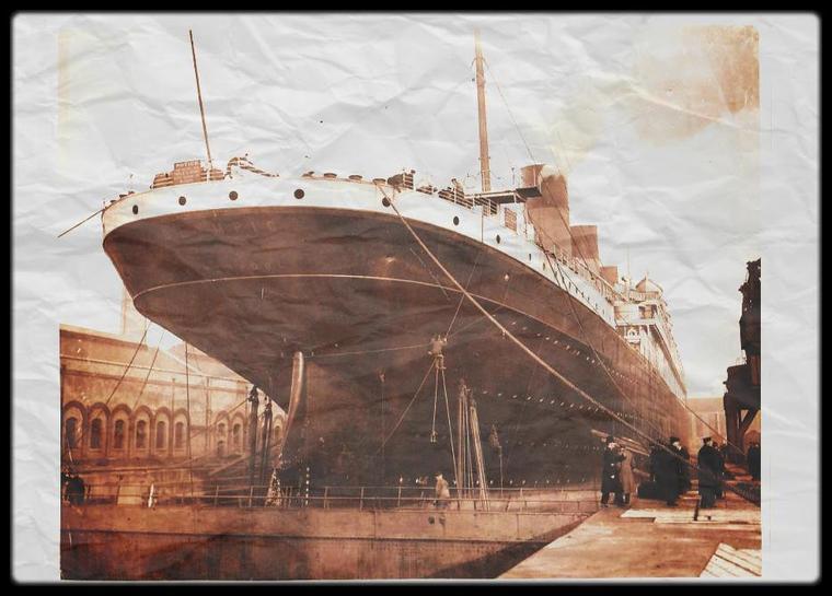 Le frère jumeaux du Titanic était le magnifique Olympic.