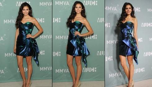 Nina dobrev Much Music Awards 2011.