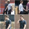 20.07.10 | Chace, beau comme à son habitude sur le tournage de Gossip Girl le 20 Juillet.