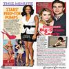 20.07.10 | Chace figurant sur une page du US magazine avec Emma Roberts, la co-star de son nouveau film.