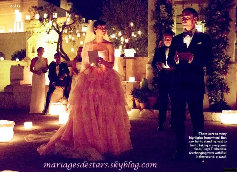 Justin Timberlake & Jessica Biel