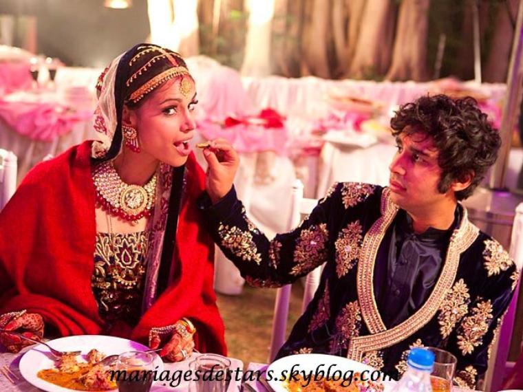 Kunal Nayyar & Neha Kapur
