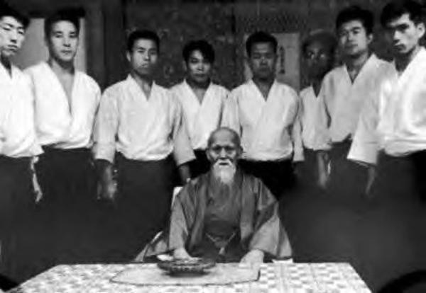 les maitres de l'aikido