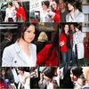 . Selena ou un pot de fond de teint ambulant arrivant au Today Show le 2 au matin.._