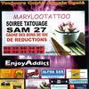 samedi 27 mars soiree tatouage