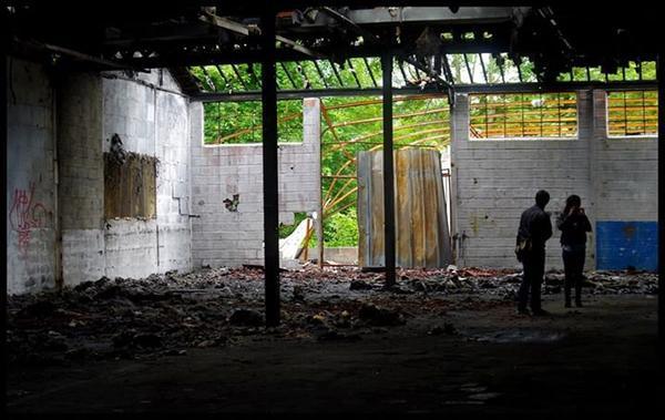 Maison abandonné / Garage