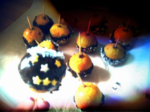 Pop-Cakes (1er essai)