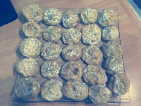 Chouquettes nutella