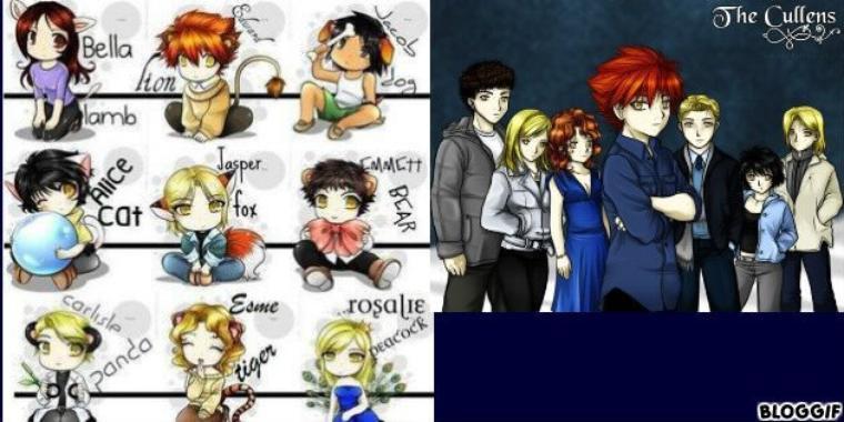 dessin de twilight personnage