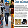 .           Style : Les sabots.            .