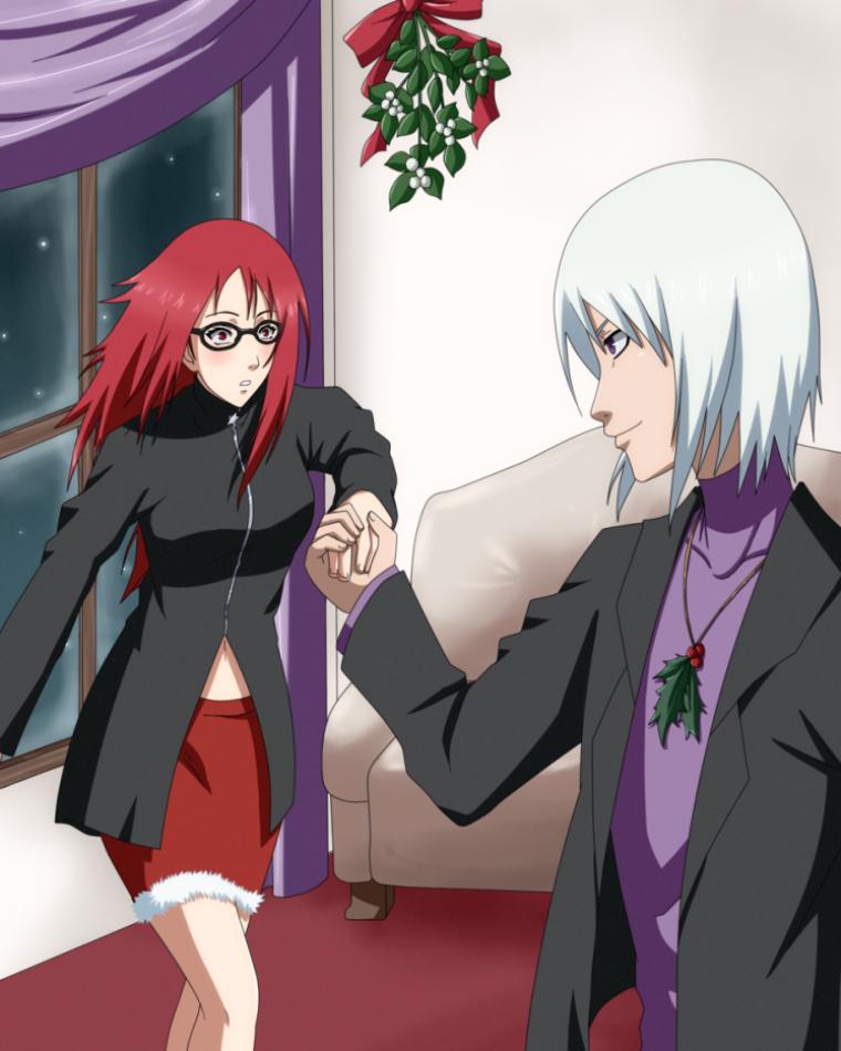 Karin et Suigetsu noel