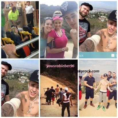 Des nouveaux photos et exclusive news de Justin Bieber.