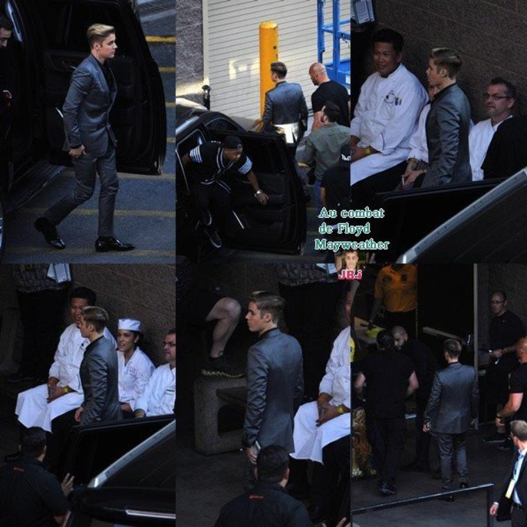 Justin à New York City.