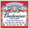 . BudWeiser .  The King Of The Beer