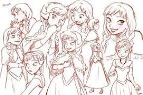Anna, Princesse d'Arendelle. <3