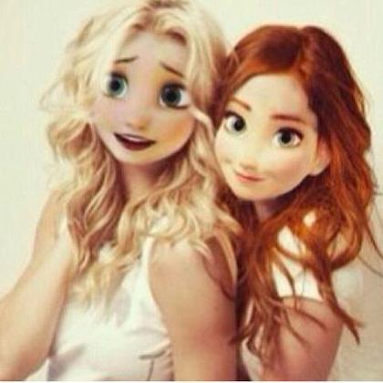 Elsa et Anna... ♥