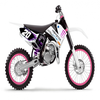 85 Sx Blanc Monster energy