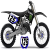 125 YZ Noir Monster Energy
