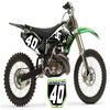 125 kx Monster  Billabong & DC