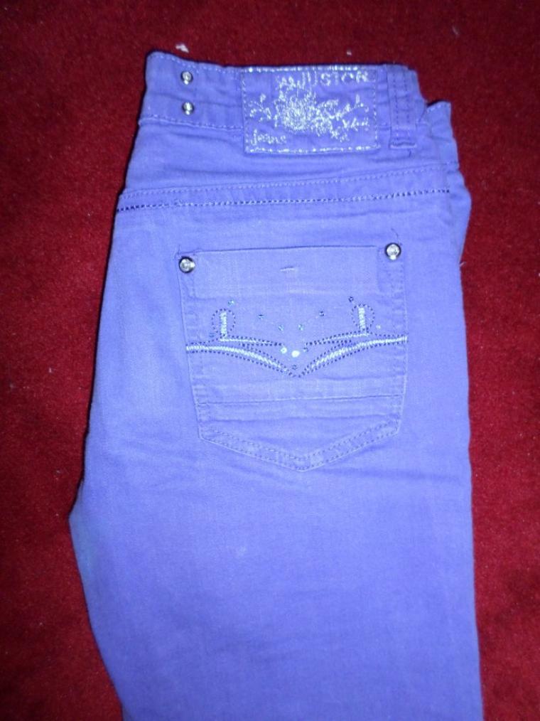 pantalon violet taille 14 ans 5¤