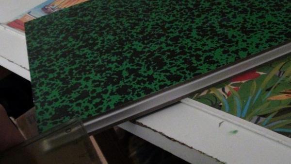 Recyclage de pochettes d'arts 1