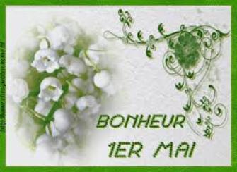 Joyeux 1er Mai à tous et toutes !