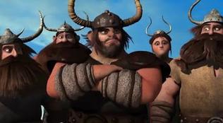 56. David Tennant, dans 'Dragons' (2010)