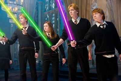 La Terre du Milieu, Star Wars et Harry Potter