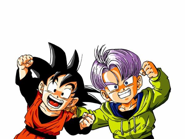 dragon ball z sangoten et trunck