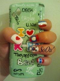 Nail art : Asia Powaaa~