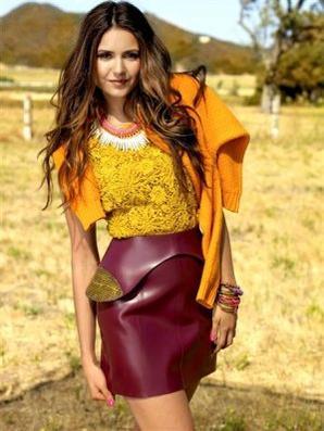 4 Septembre 2012 Nina a réalisé un photoshoot pour le célèbre magazine Seventeen, édition Octobre 2012