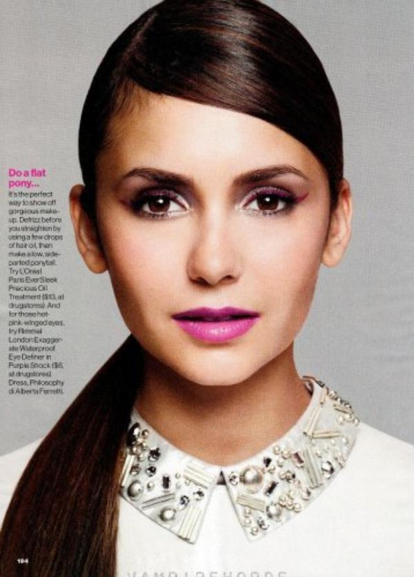 Scans de Nina pour Glamour Nov
