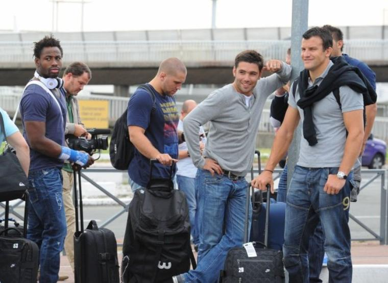 Fulgence Ouedraogo, Fabien Barcella, Dimitri Yachvili & Damien Traille