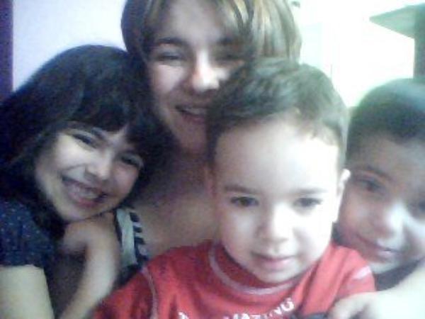 Mes 3 enfants font de moi,une maman comblée