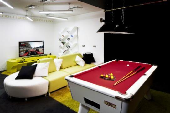 Nouvelle salle de repos blog de microsoft blog for Amenagement salle de repos entreprise