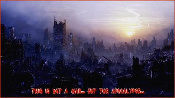 Chapitre 13 : Ce n'est pas une guerre... mais l'apocalypse!