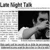 •_____Late Night Talk