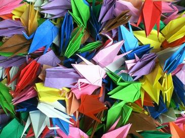 Les origamis ! Le papier dans de drôles d états !! X)