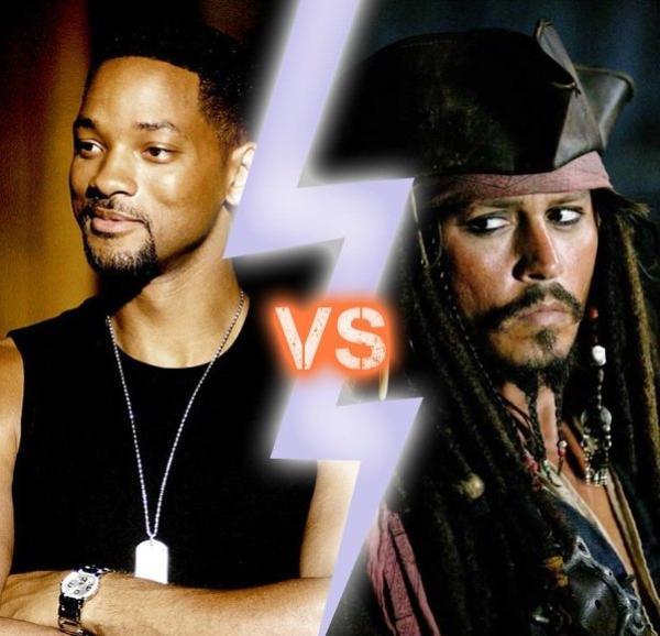 Will Smith ou Johnny Depp ?