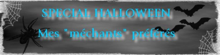 "[Mon Top 5] Mes ""méchants"" préférés (spécial Halloween)"