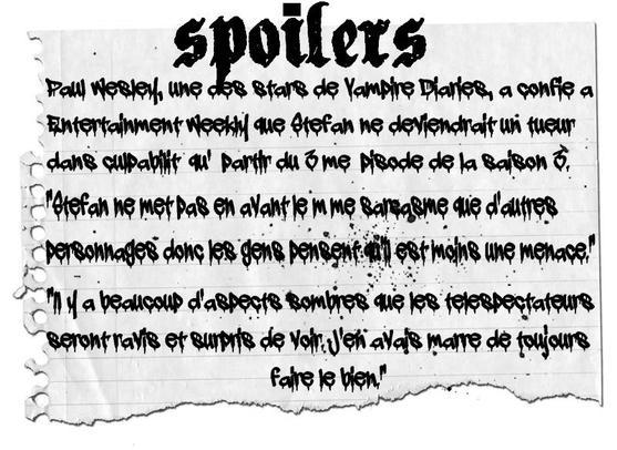 Spoilers !