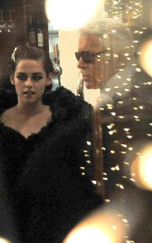 Kristen rencontre KL,quand Daniel Radcliffe copie Robert...,+ un poster promo de 'Bel Ami'
