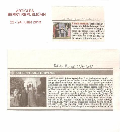 ARTICLE 615 - ARTICLES DE PRESSE